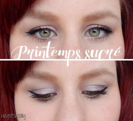Printemps sucré – Tutoriel make up