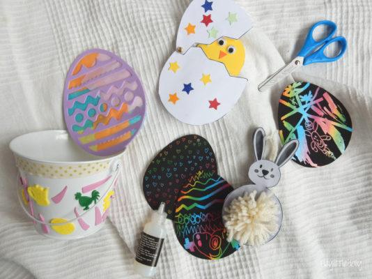 Bricolages de Pâques dans la DoItBox de mars !