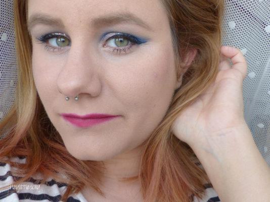MSC bleu électrique et argenté : Glittery dreams